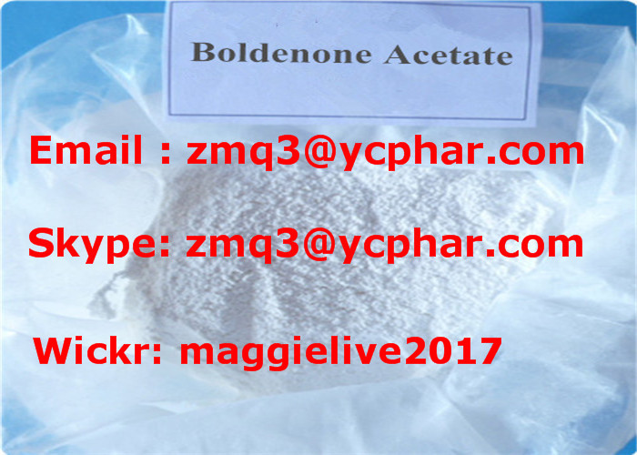 Raw Boldenone Acetate Powder Muscle Building Steroids For Injection 846-46-0