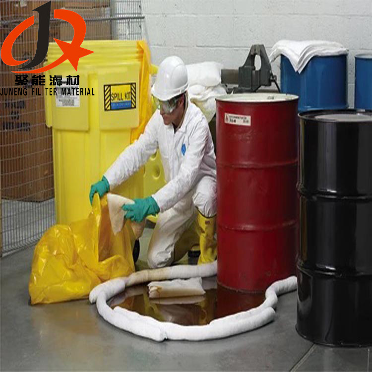 Spill Control PP Non woven Fabric for Oil Absorbent Booms and Skimmers