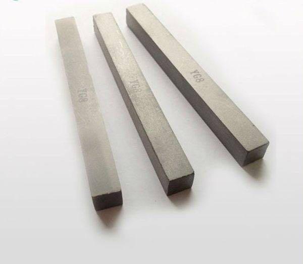 Tungsten carbide strip for sand mining machine