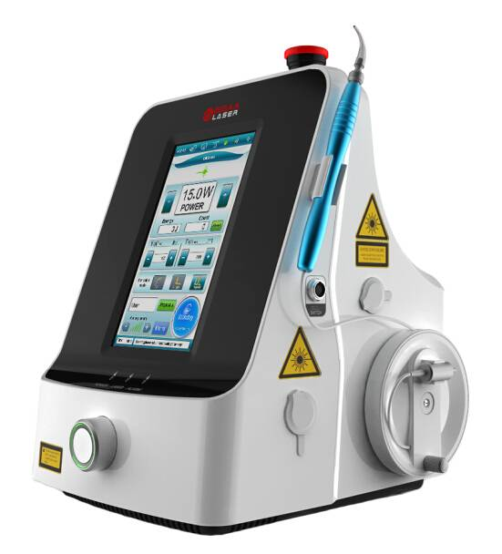 Physiotherapy laser system with 1064nm deep penetration