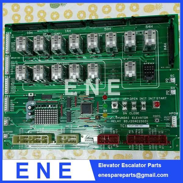 HYUNDAI ELEVATOR BOARD RELAY 204C2303