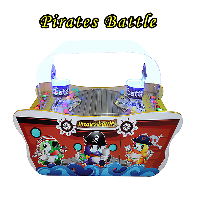 Most popular coin operated games Pirate Battle pinball game machine