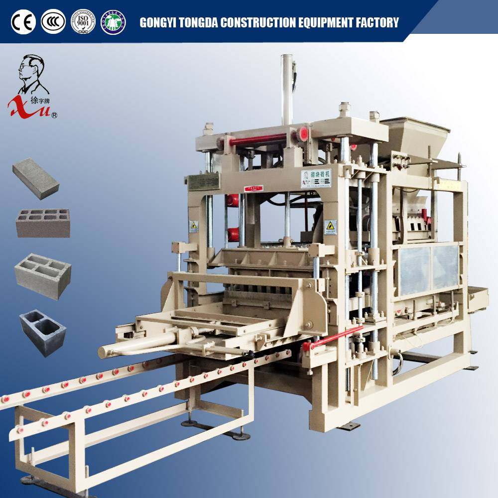 Heavy Type Automatic Block Molding Machine From Manufacturer