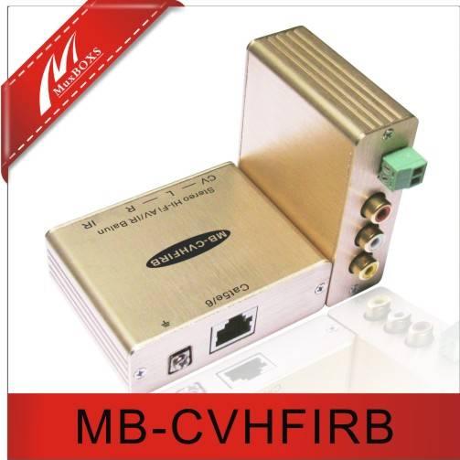 Composite Video/Stereo  Hi-Fi Audio , IR Balun