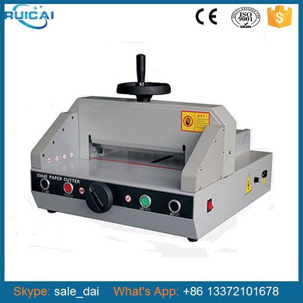 Programing A4 Size Paper Cutting Machine Price