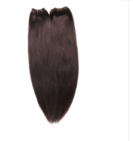 [7Pcs/set]Indian Straight Clip In Hair Extensions 70g