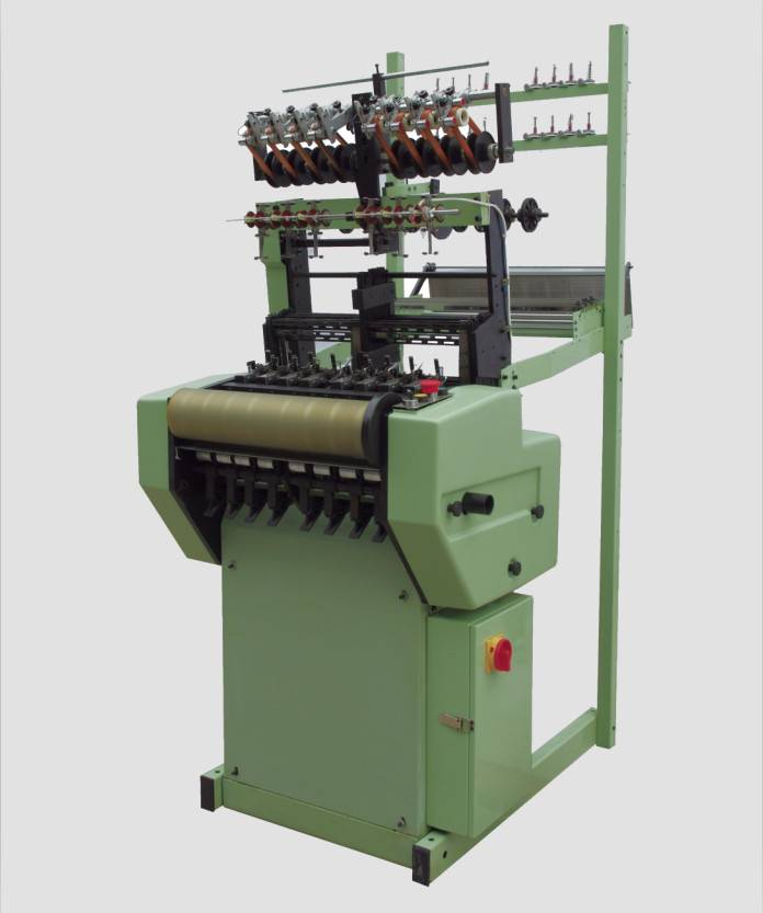 high speed shuttle-free loom for ribbons