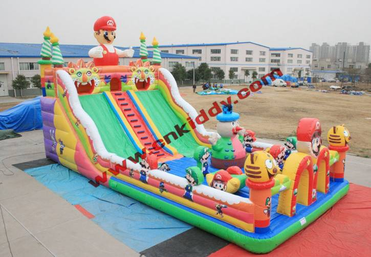 inflatable castles with slide