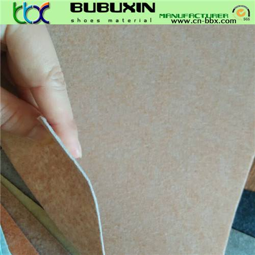 Non-woven fabric lining imitation leather