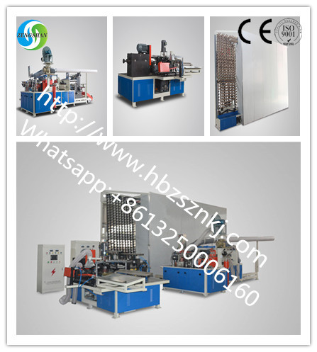 Automatic cone tube production line