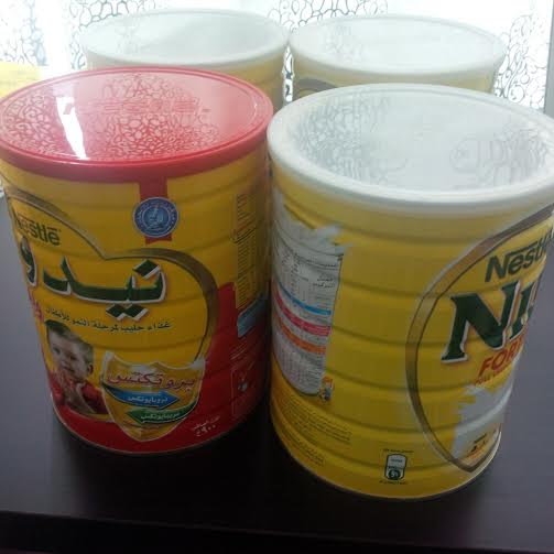 Nestle Nido milk powder (Arabic /English Text)