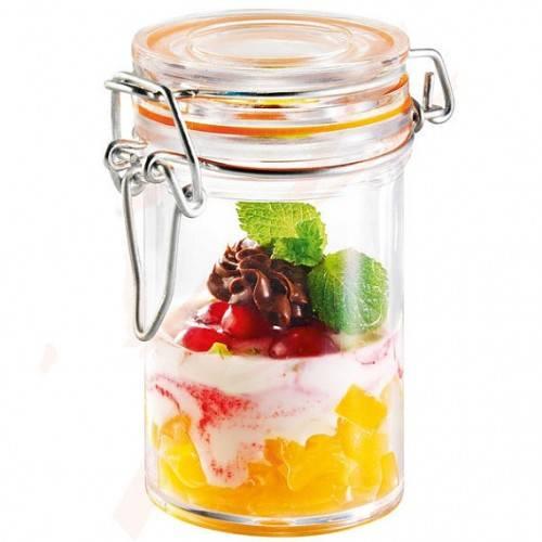 plastic jar 85*48*40mm
