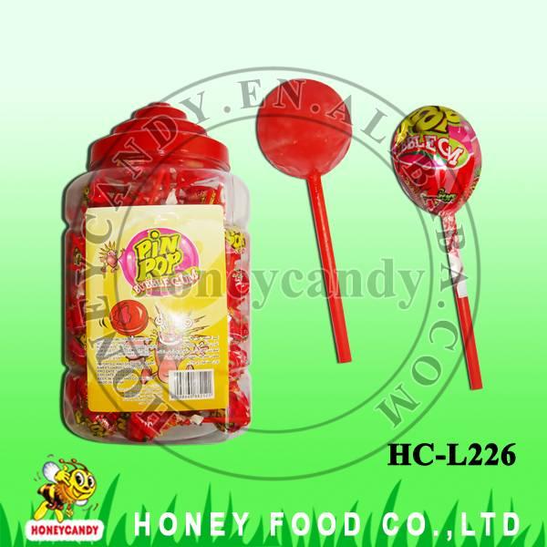 21g Pin Pop Fruity Lollipop