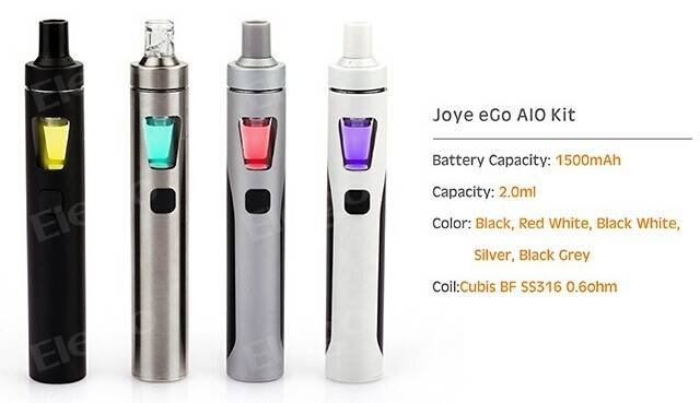 Original Joyetech EGO Aio Kit 2.0ml EGO Aio Starter Kit