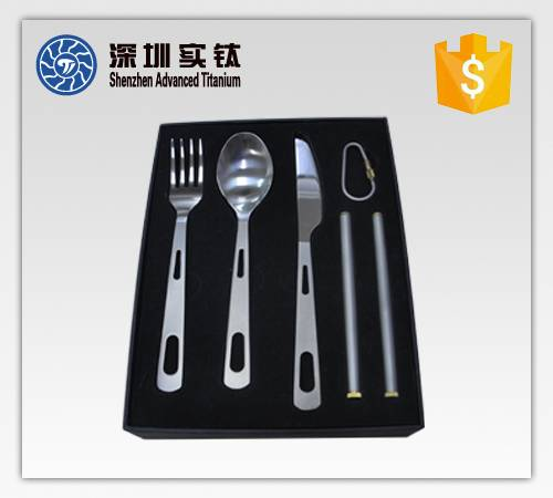 titanium flatware sets on hot sale