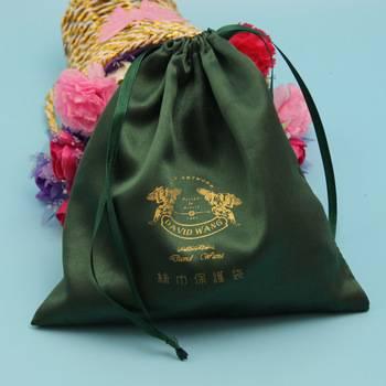 satin handle gift bag,satin gift bag for wedding favor