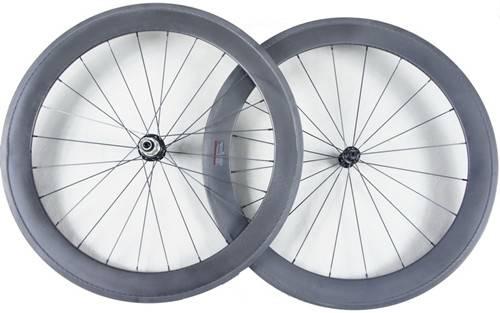 road bicycle full carbon wheel tubular 60mm 700c