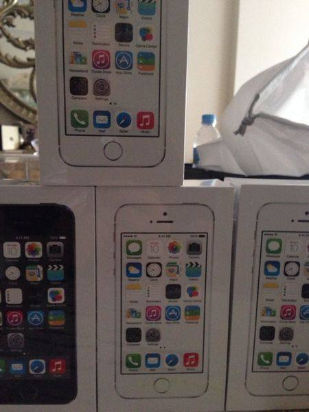 New Apple iPhone 5s 16,32 and 64GB unlocked