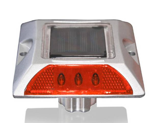 cat eye aluminum road stud reflector solar led flashing road studs