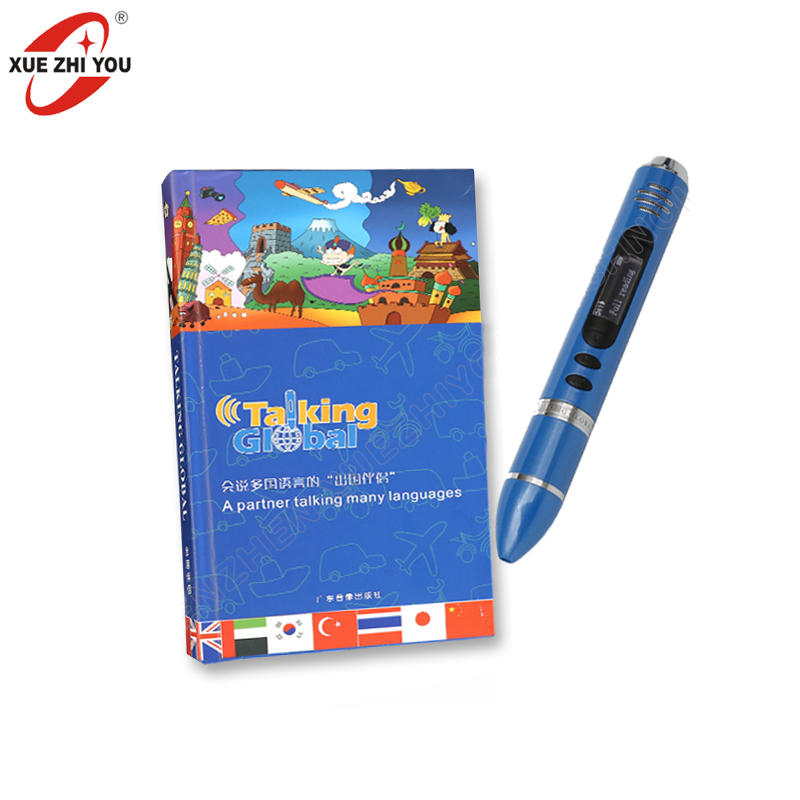 Best Selling OEM Talking Pen 8GB Memory Translating Machine with LED Screen