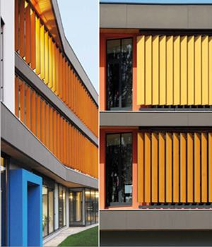 Rich-Lees CE approved colorful Matte HPL house external wall cladding
