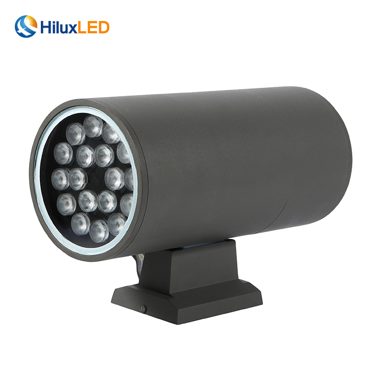 Modern ip65 18w 40w up and down outdoor wall lamps led wall lights