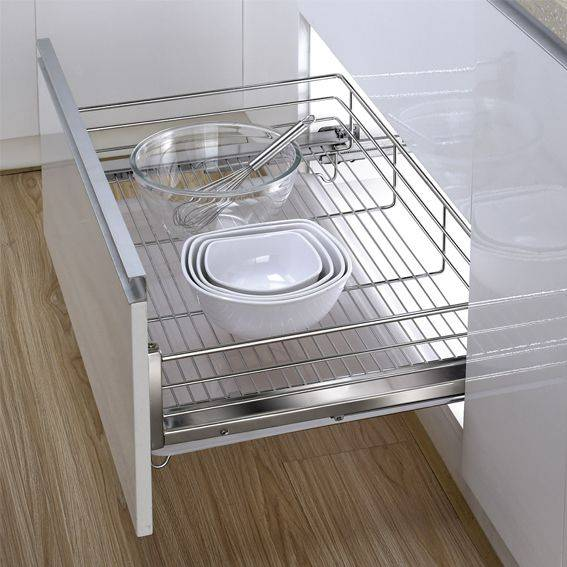 Three-lateral Kitchen Drawer Basket:170001722
