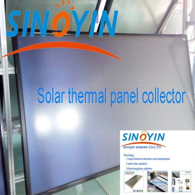 solar thermal heating collector of 2.5sqm