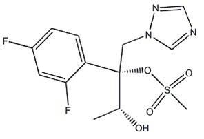 (2R,3R)-2-(2,4-difluorophenyl)-1-(1H-1,2,4-triazol-1-yl)butane-2,3-diol Mesylate