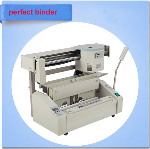 desktop perfect book binding machine