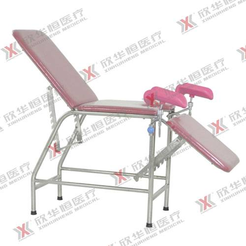 Stainless steel gynecology attending bed