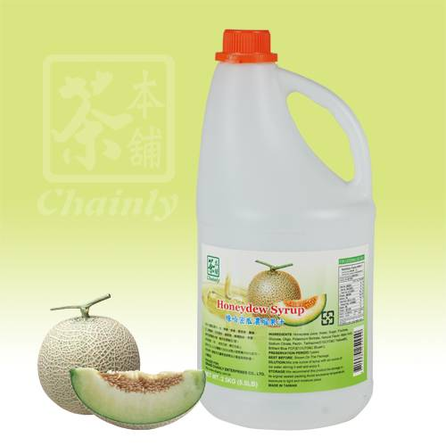 Honeydew Flavor Concentrated Syrup