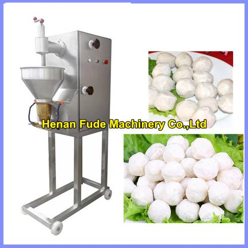 Double speed meatball forming machine , fish ball making machine