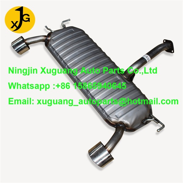 Hyundai Tucson 2wd middle exhaust mufflers
