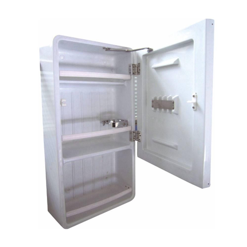 Plastic mirror cabinet