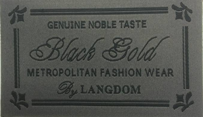 woven label with high quality