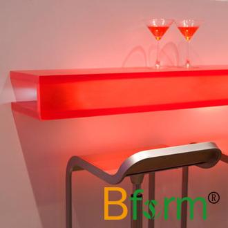 Chinese Factory Acrylic Plastic Sheet Translucent Desktop Panel