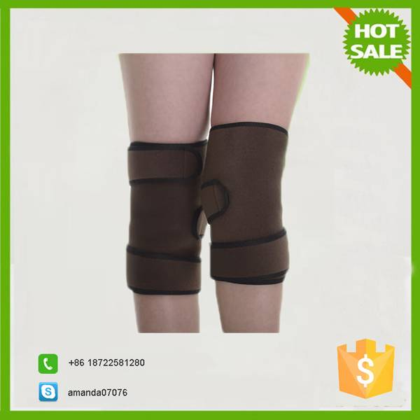 Elastic magnetic knee belt