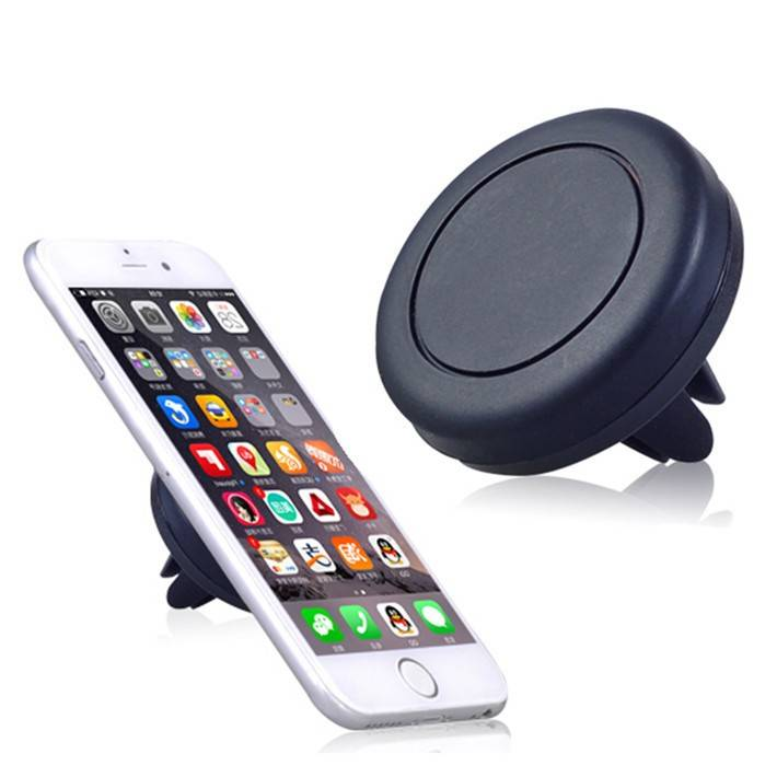 Hot Sale Mini Car Holder High Magnetic Phone Holder Universal Silicone Magnetic Air Vent Car phone h