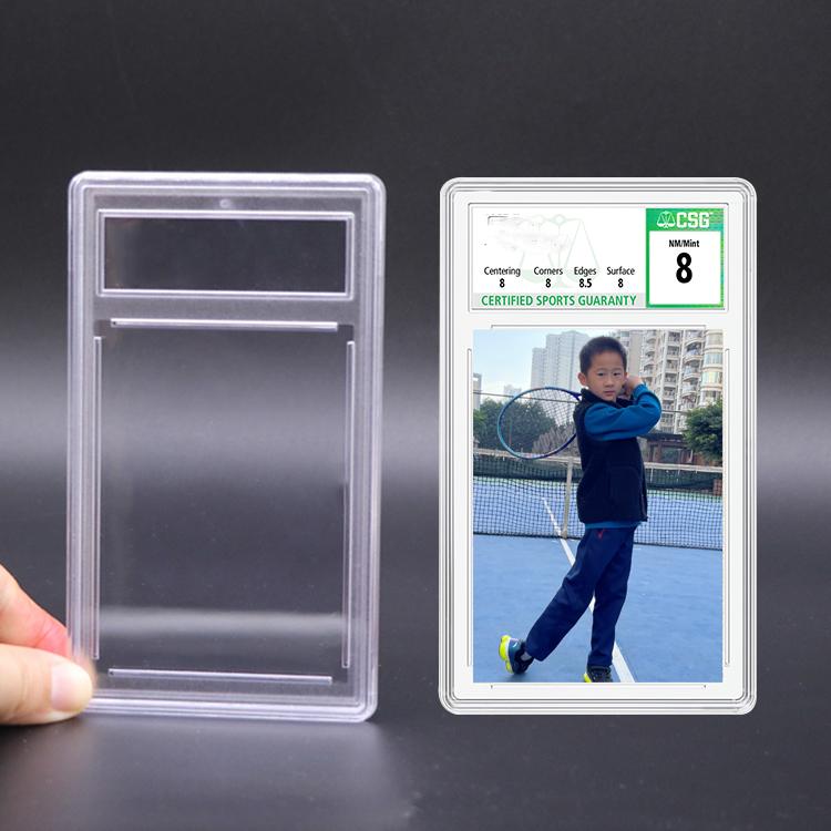 PSA Display Sports Card Case Holder Plastic Graded Card Slab