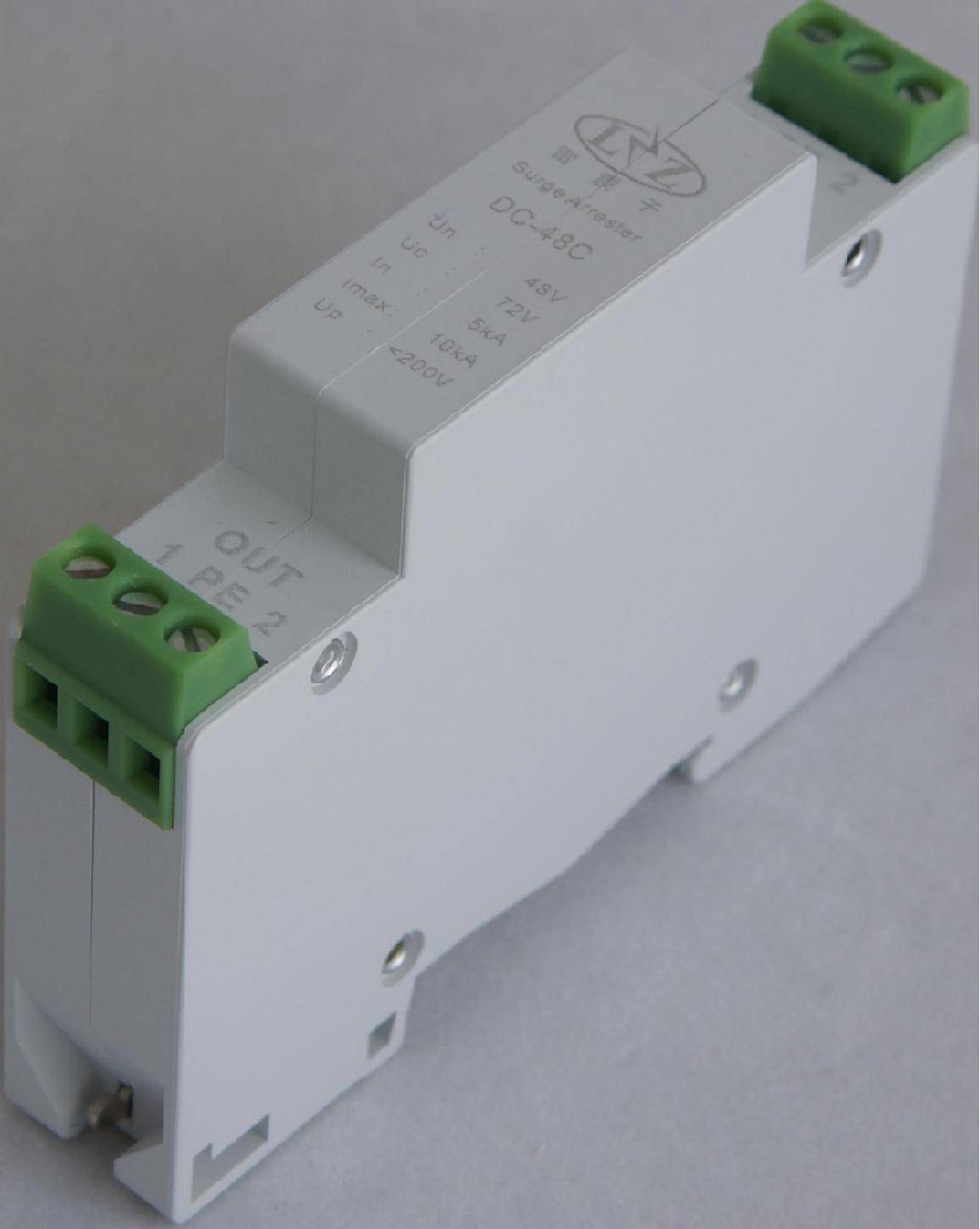 DC-C series 2- wire control signal surge protection device