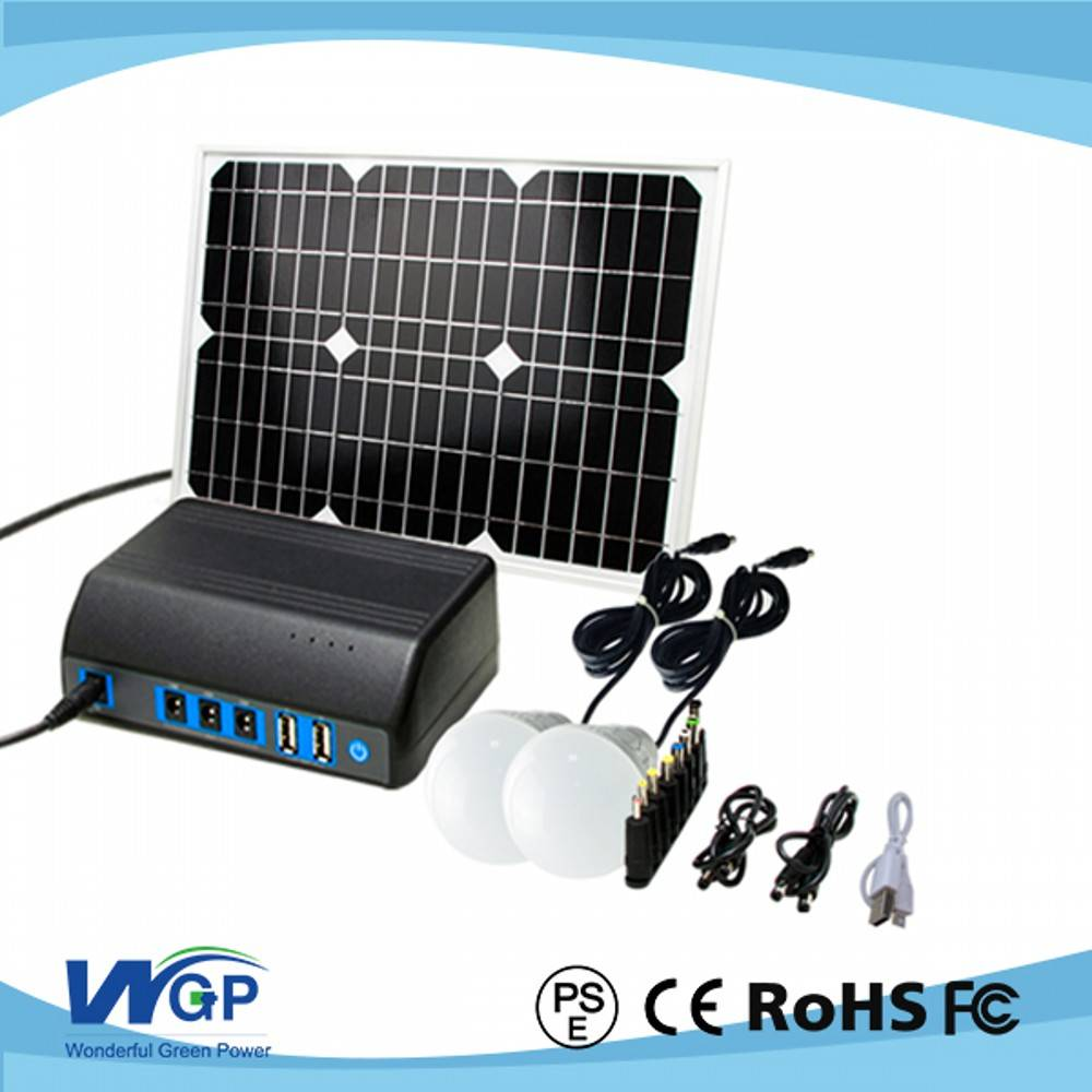 High quality mini solar power generator/portable solar system /solar generator for home and camping