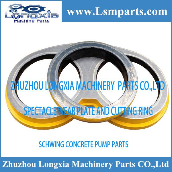 Concrete pumps Schwing spare parts wear plate