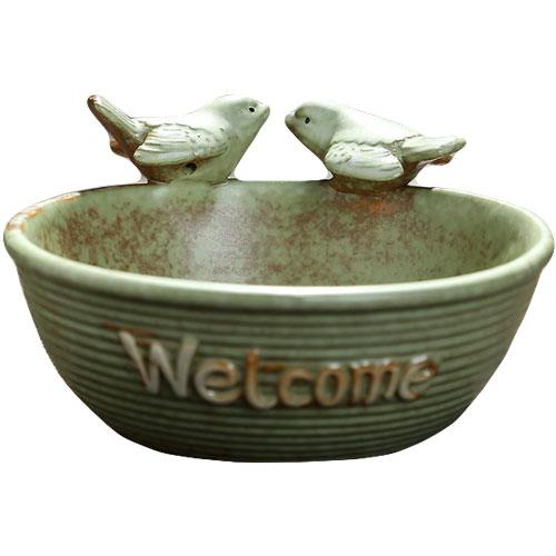 Twittering Song Birds Handmade Ceramic Succulent Planter