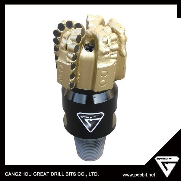 cangzhou great S323/223/232 steel body pdc bit for oil well drilling