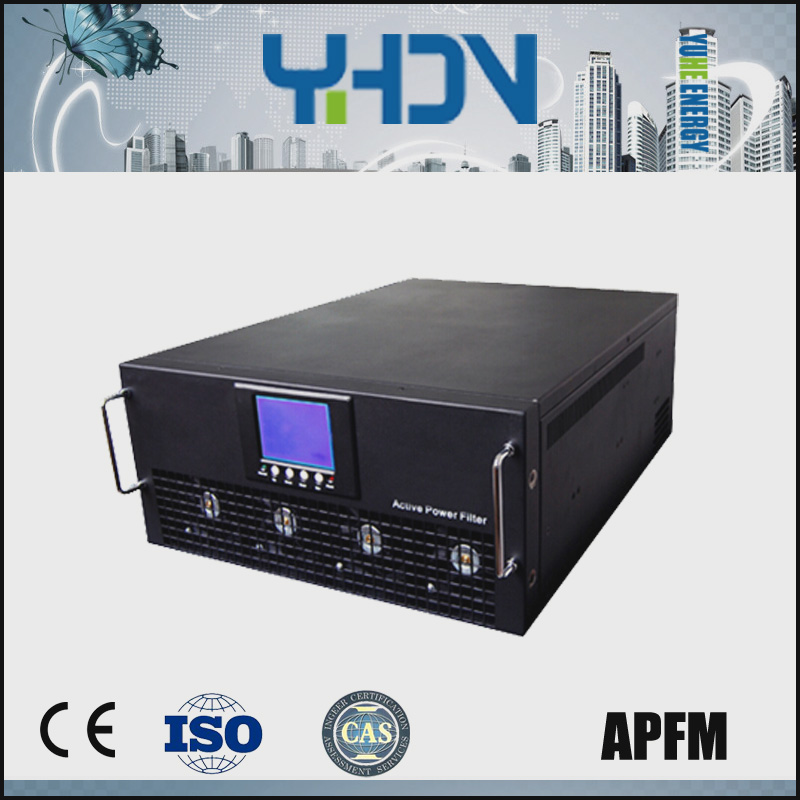 low voltage 50Hz active power filter (APF) improving power quality detuning harmonics