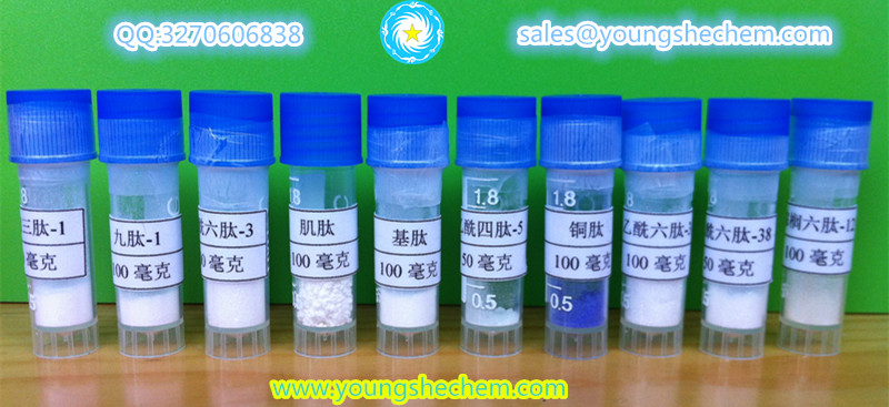 Renokin peptides for hair and eyelash growth