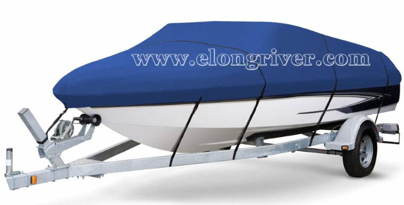 Blue Marine Trailerable Used Boat Cover