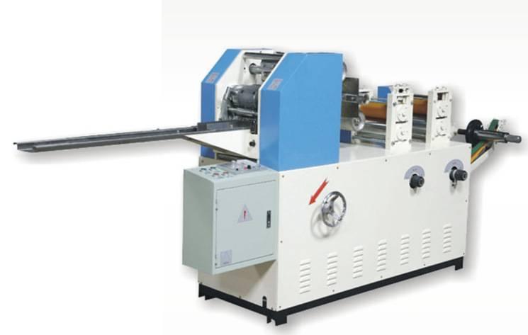 Mini Tissue Paper Machine Automatic Handkerchief Paper Folding Machine