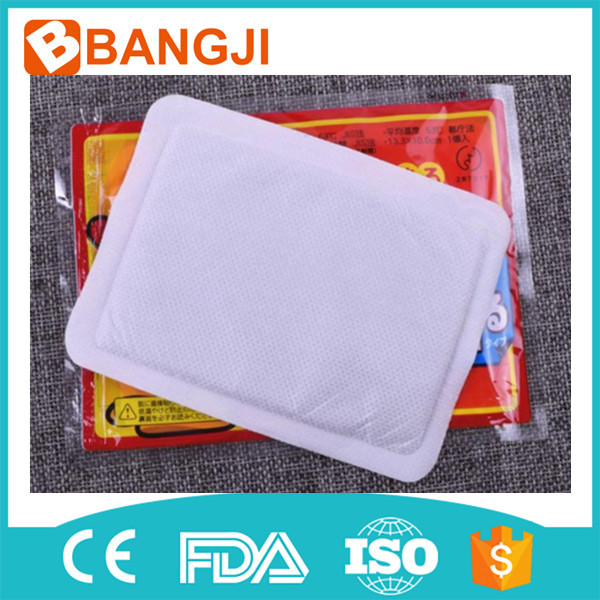 China Manufacturer Physical therapy heating warm patch Keep Body Warm